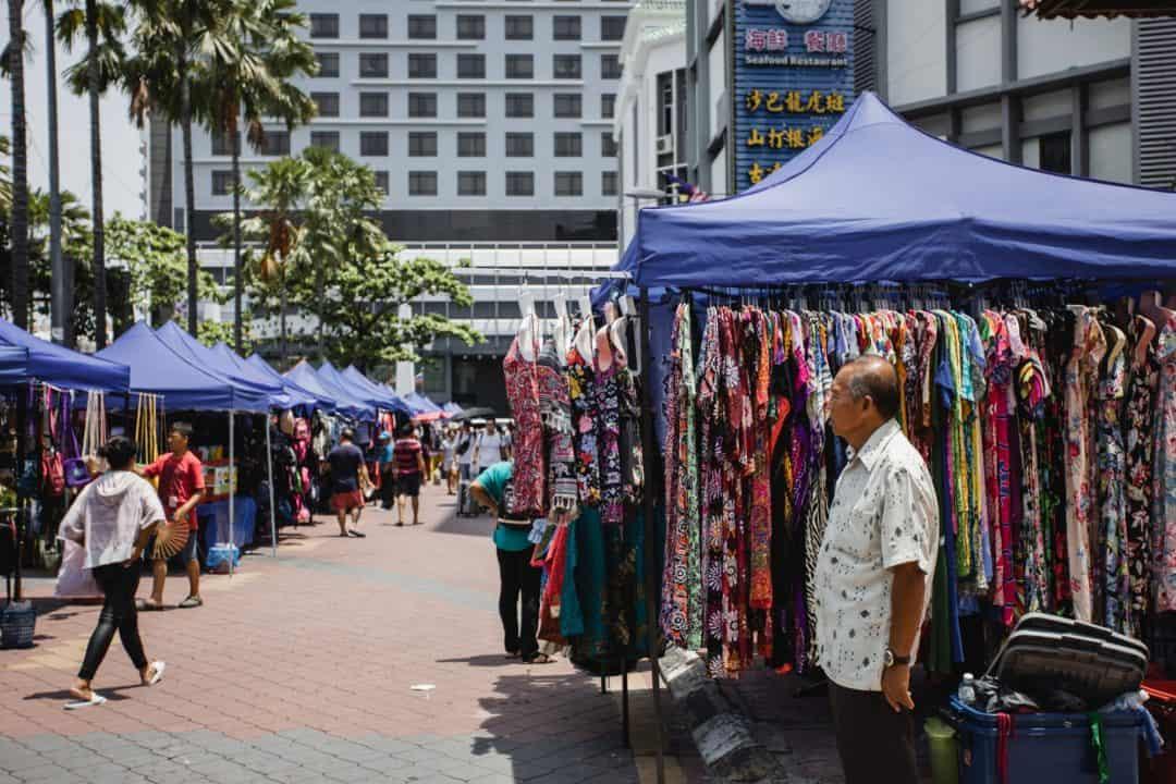 Gaya Street in Kota Kinabalu