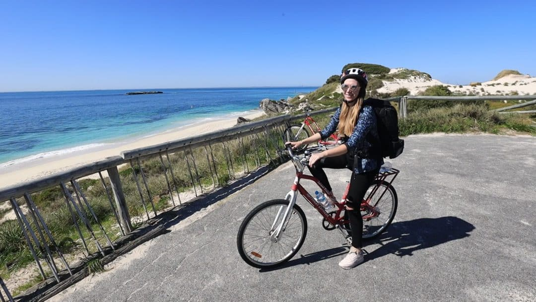 Hiring a bike on Rottnest Island
