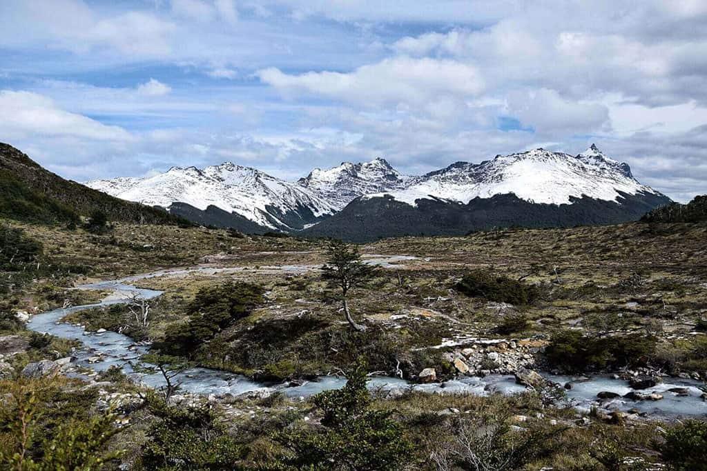 Laguna Esmerelda in Tierra del Fuego, Argentina