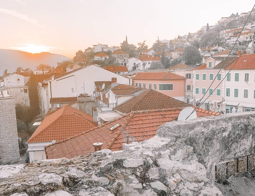 Herceg Novi in Montenegro