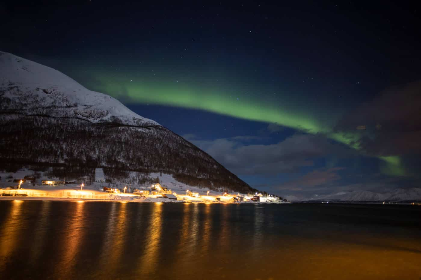 The Northern Lights in the Lofoten Islands