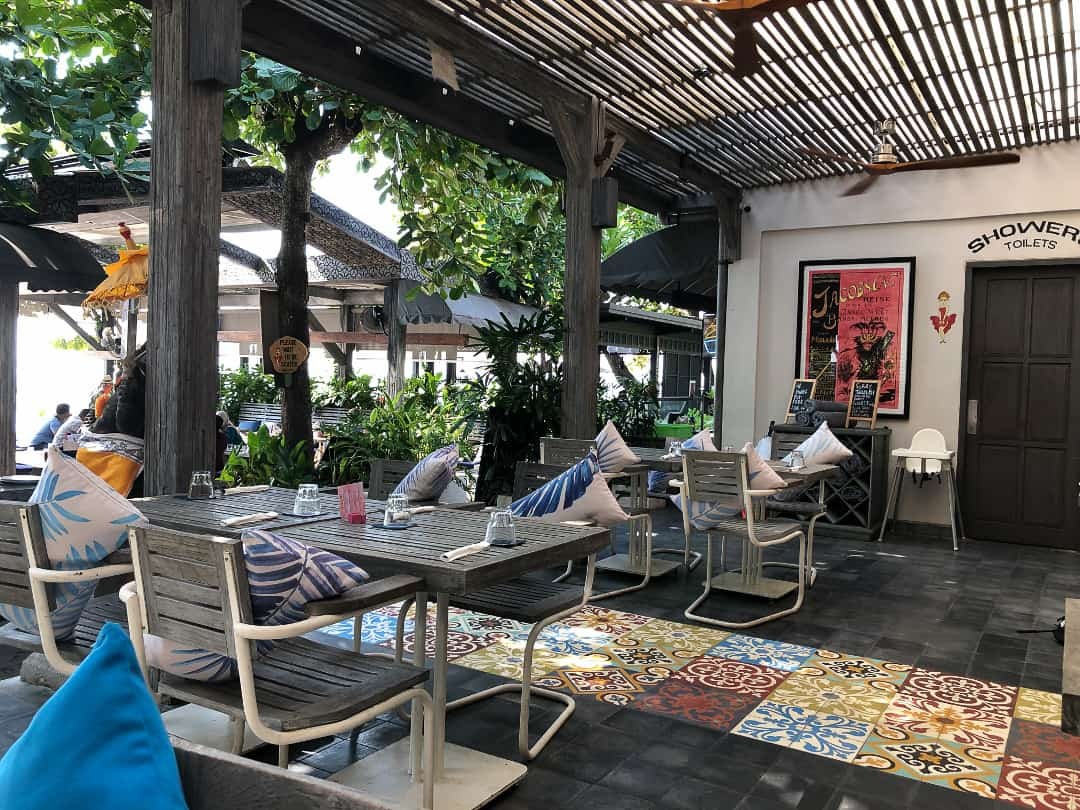 Soul on the Beach Cafe in Sanur Bali