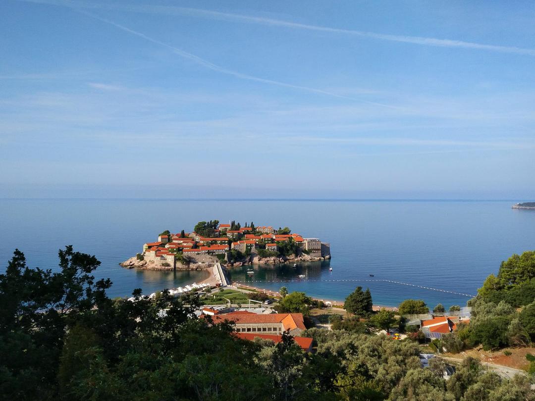 Sveti Stefan Island in Montenegro