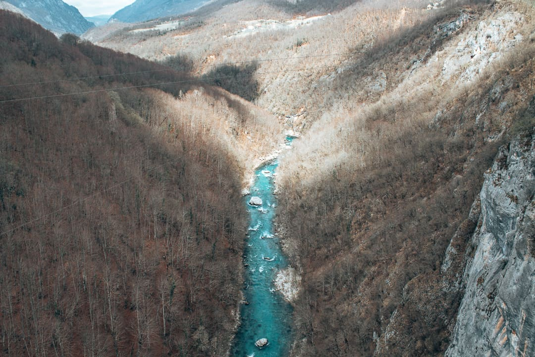 Tara Canyon in Montenegro