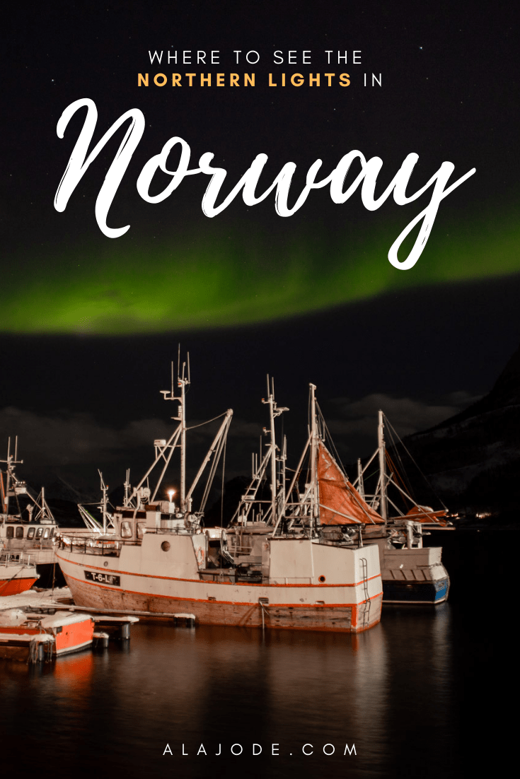 where to see the northern lights in norway