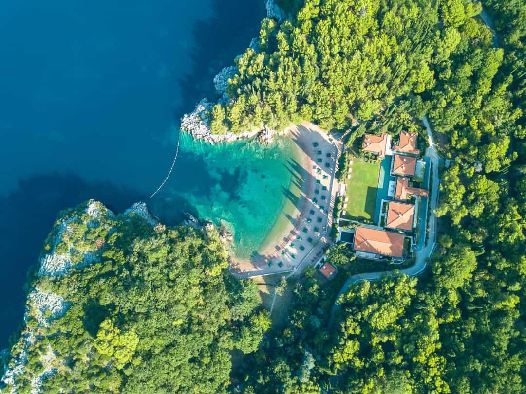 Queen's Beach in Montenegro