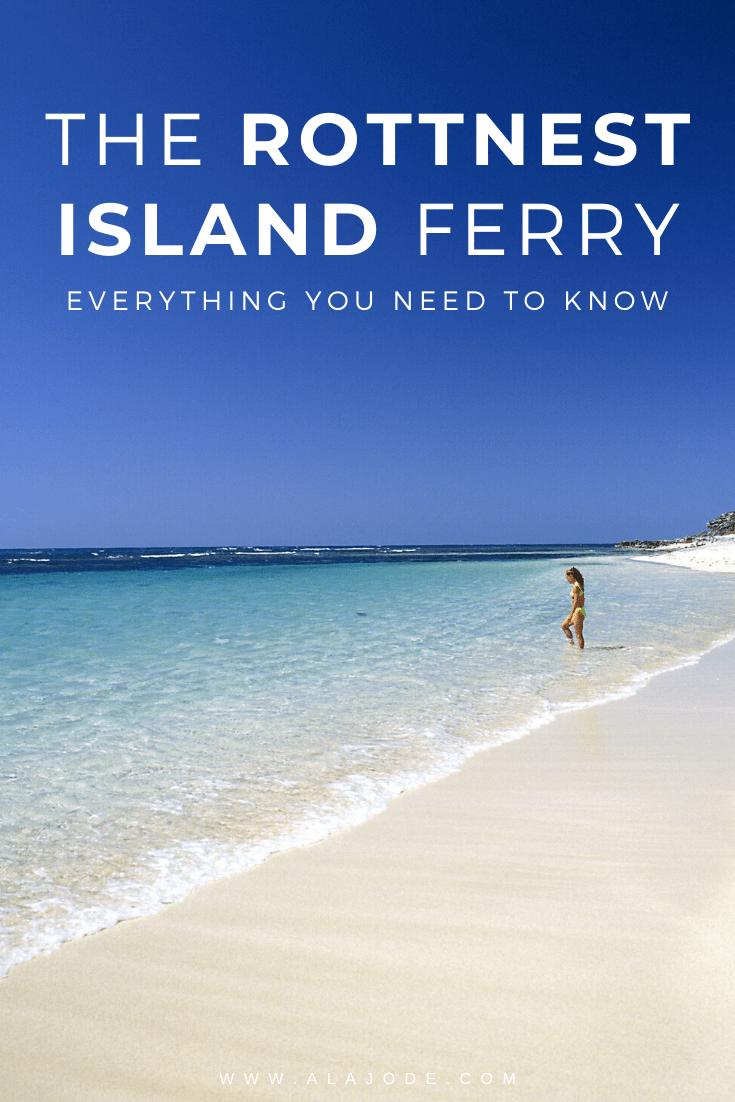 THE ROTTNEST ISLAND FERRY