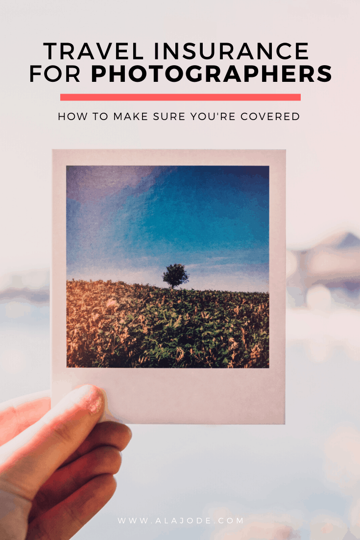 TRAVEL INSURANCE FOR PHOTOGRAPHERS