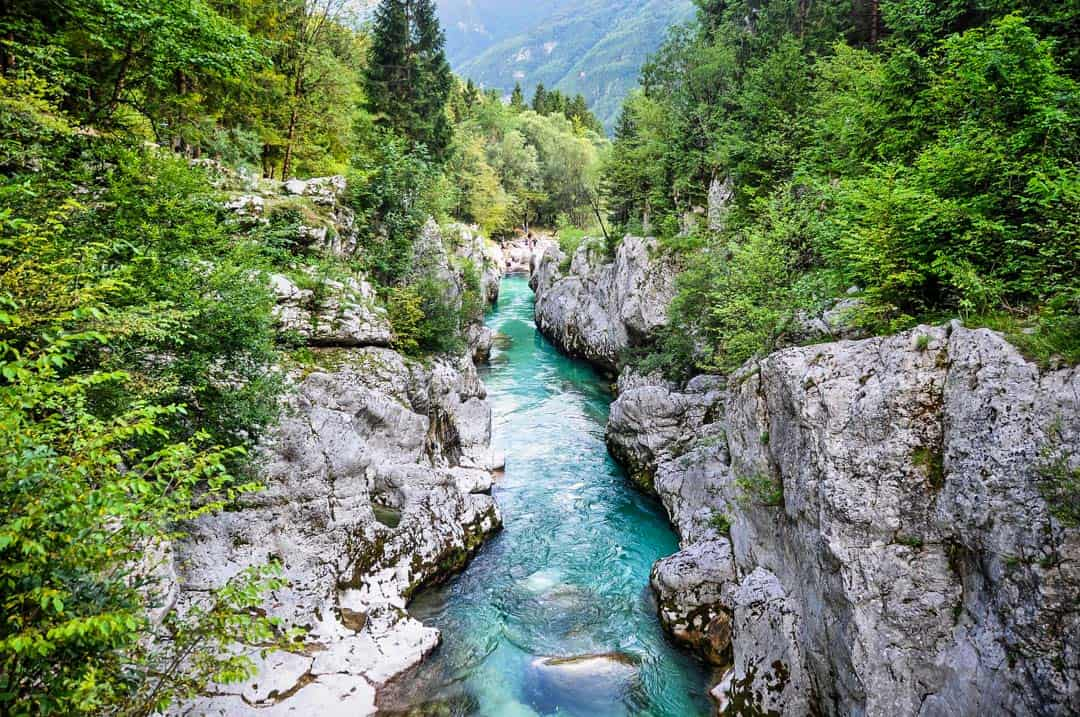 Bovec, one of the most beautiful places in Slovenia