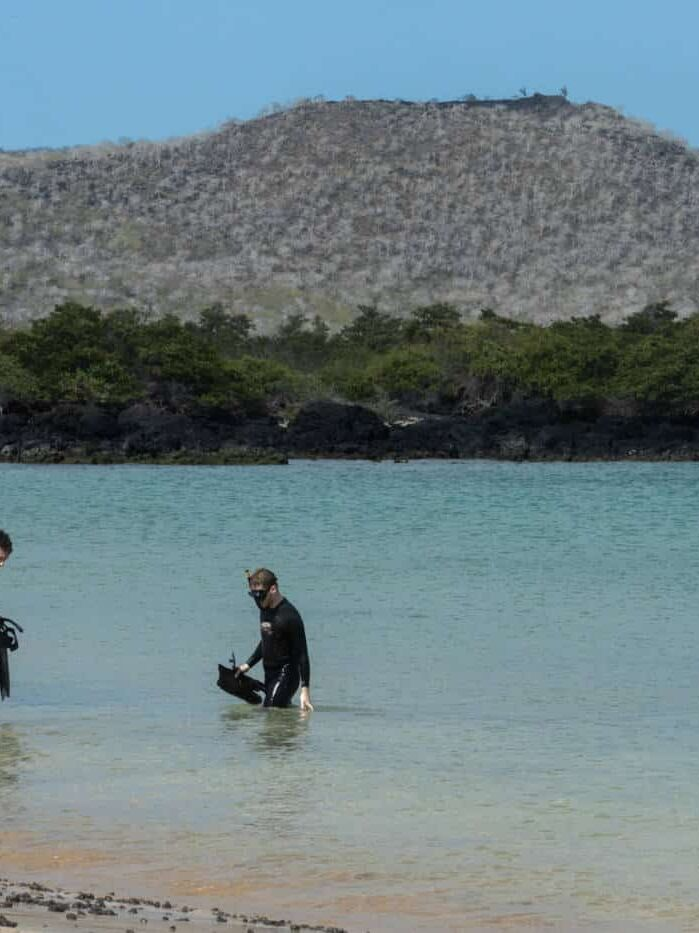 Galapagos snorkelling and what to wear in the Galapagos
