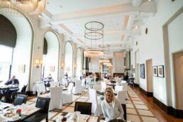 Le Bistro in the Esplanade Hotel in Zagreb
