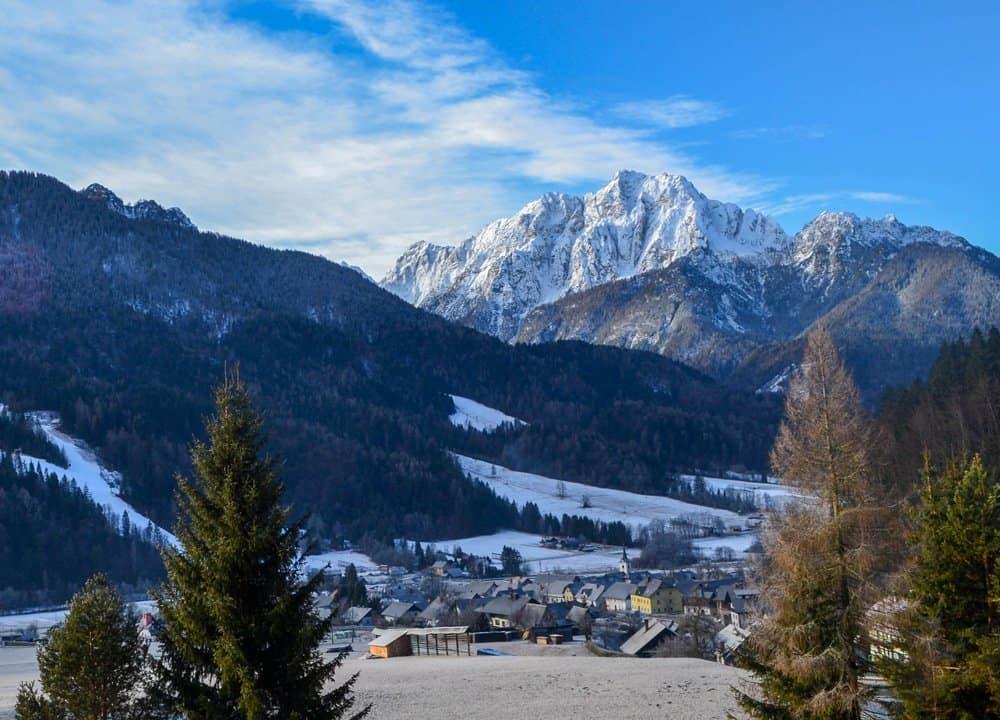 Kranjska Gora in Slovenia
