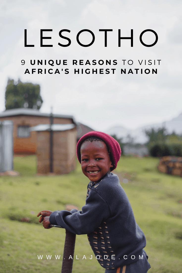 reasons to visit Lesotho