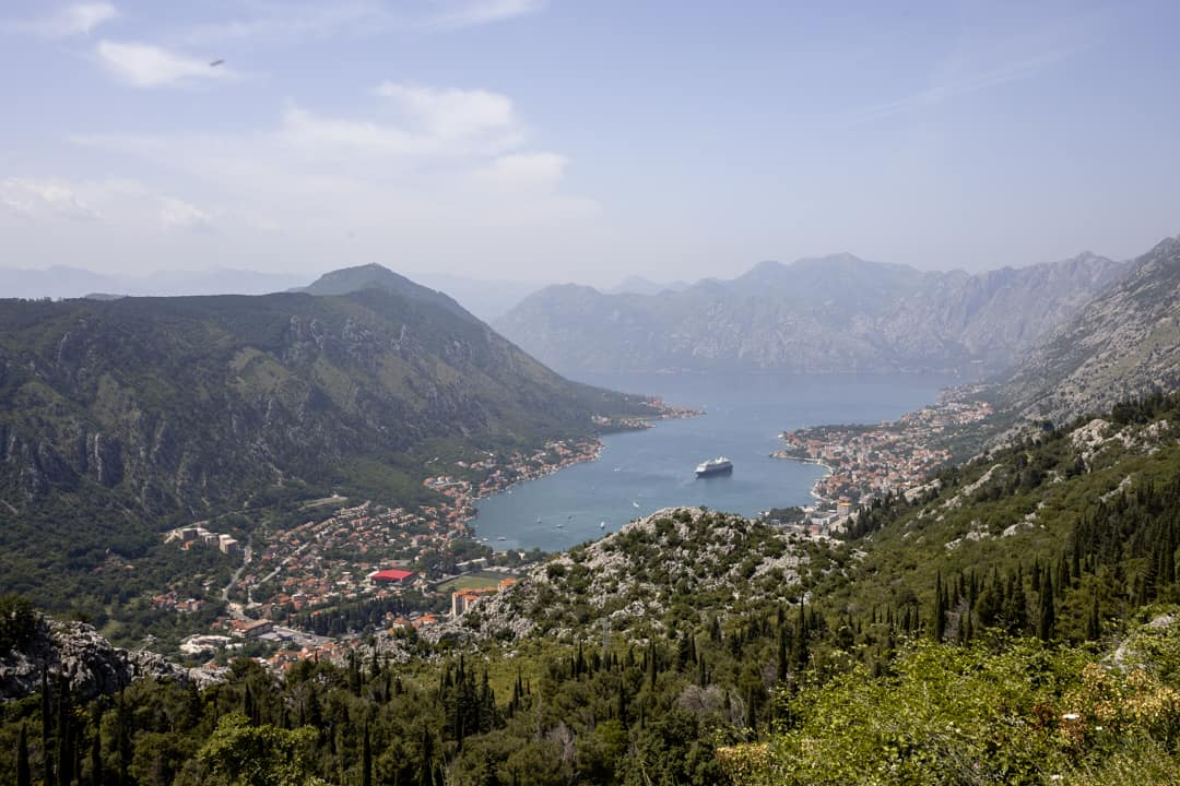 Bay of Kotor in Montenegro