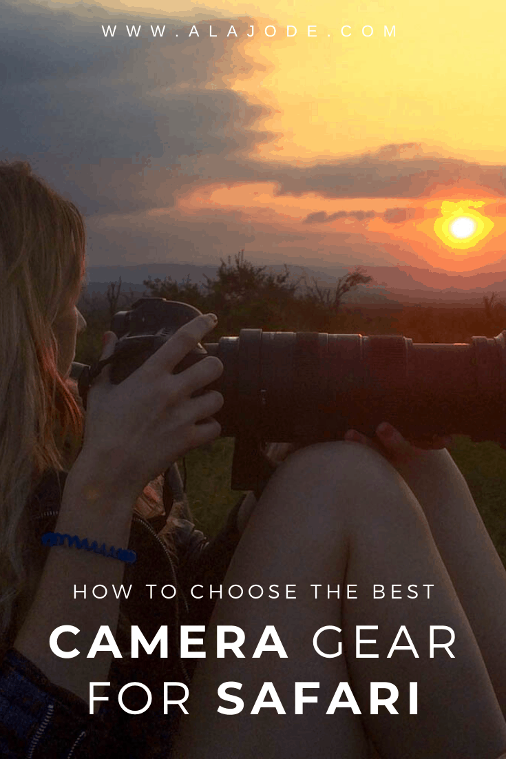 HOW TO CHOOSE THE BEST CAMERA GEAR FOR SAFARI