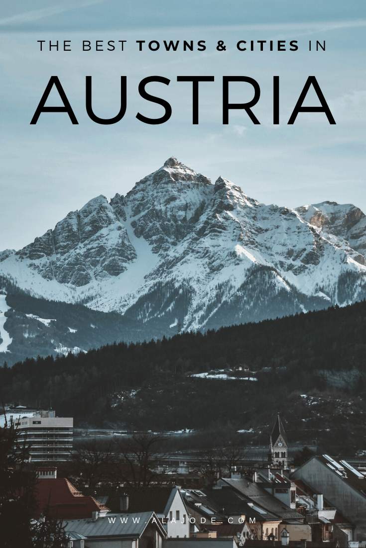 TOWNS AND CITIES IN AUSTRIA