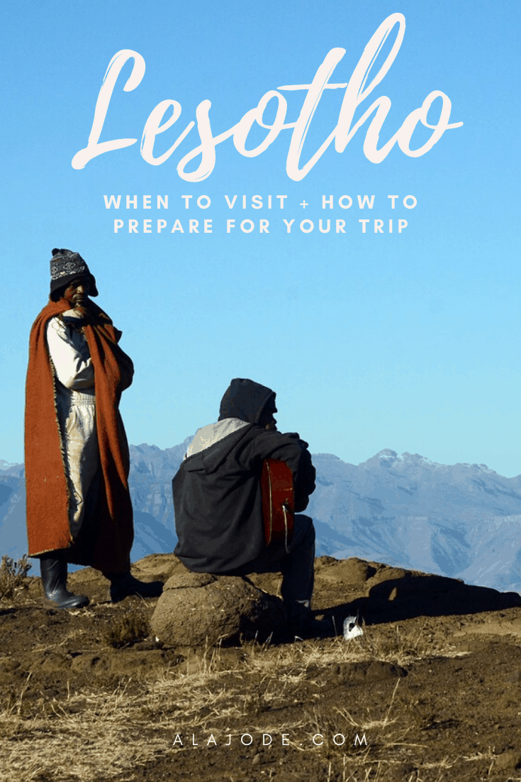 WHEN TO VISIT LESOTHO