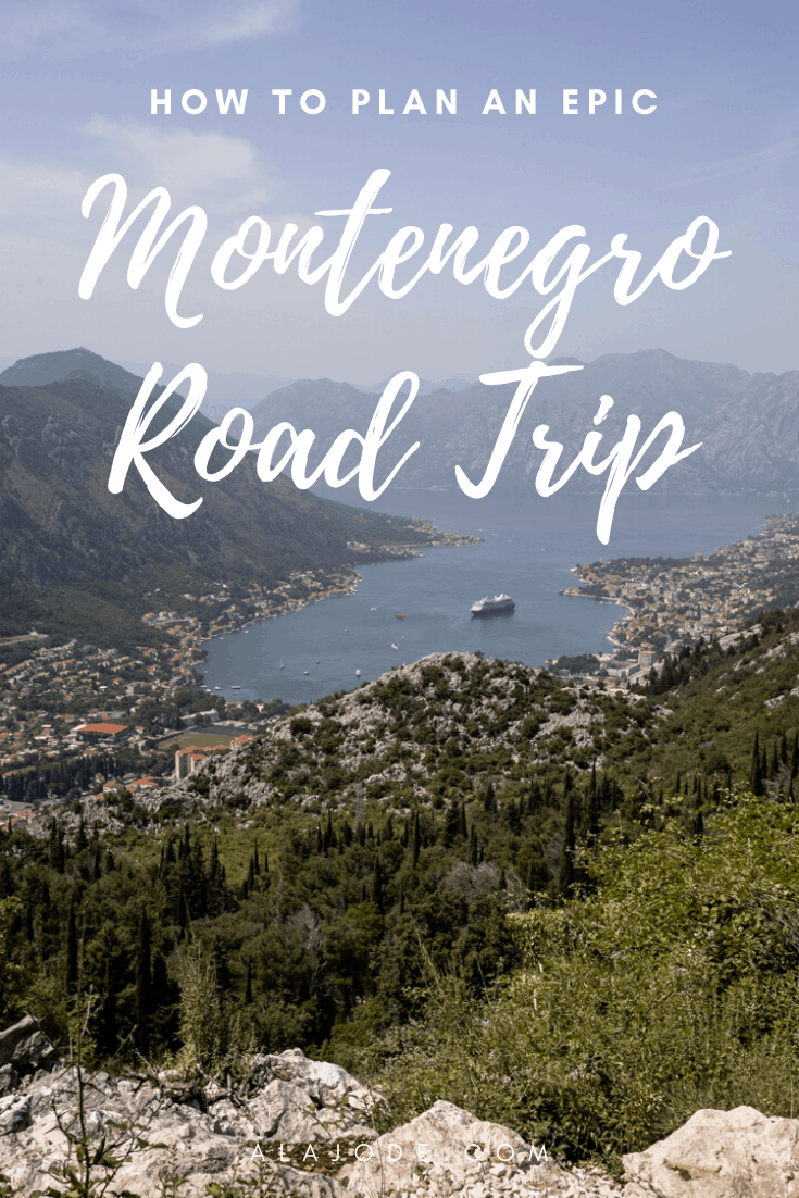 how to plan a montenegro road trip