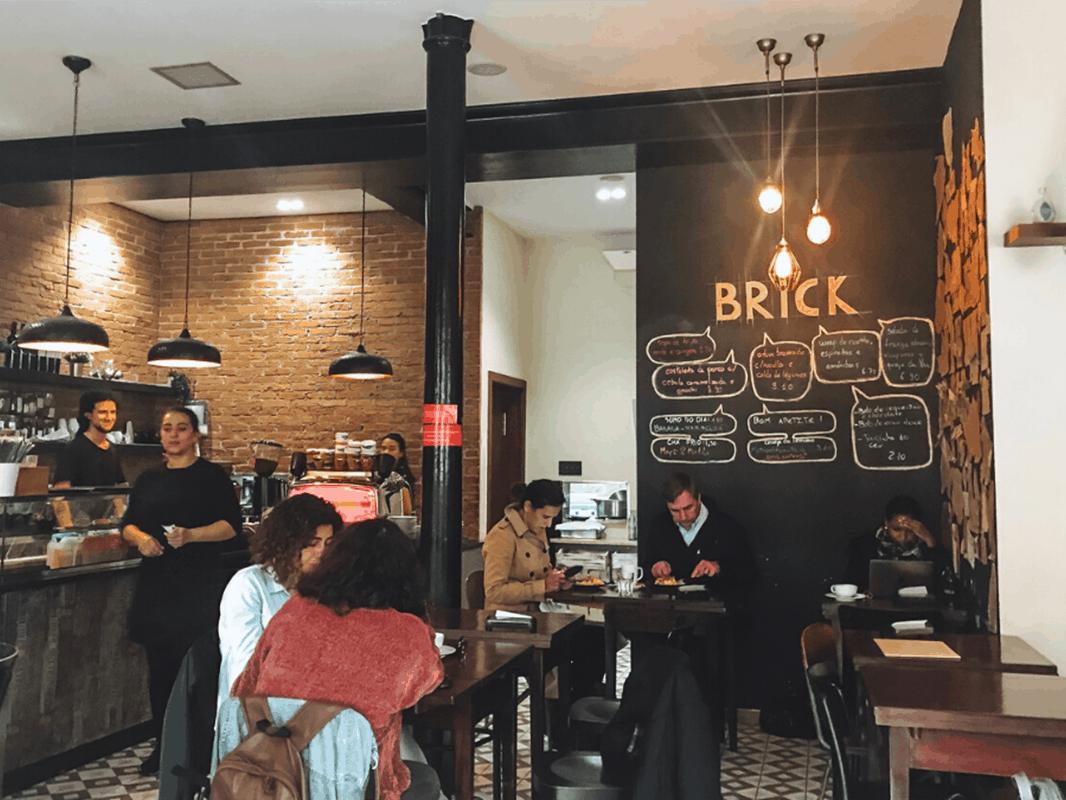 Brick Cafe - A great Lisbon brunch spot