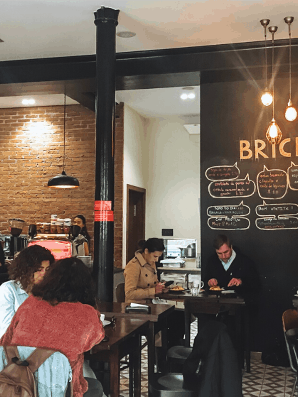 Brick Cafe - A great Lisbon brunch spot