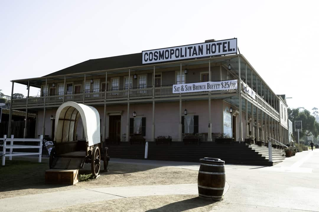 Cosmopolitan Hotel in Old Town San Diego California USA
