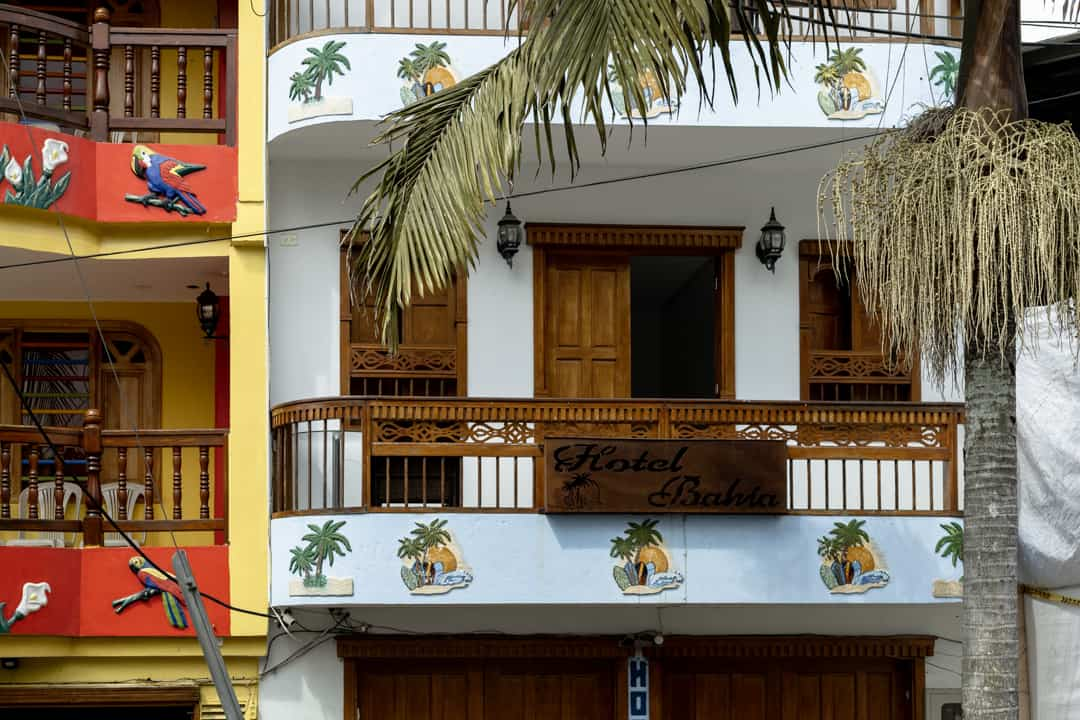 A hotel in Guatapé Colombia