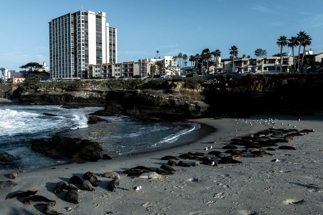 La Jolla in San Diego California USA