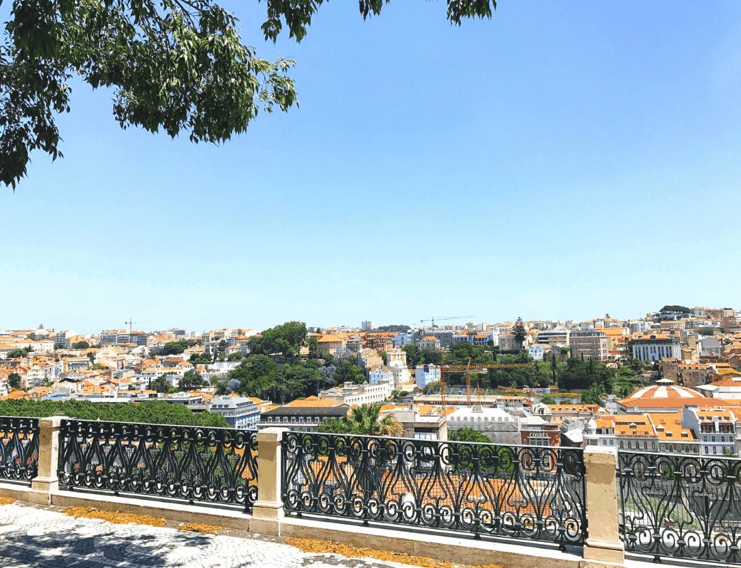 Miradouro de Sao Pedro de Alcantara Viewpoint