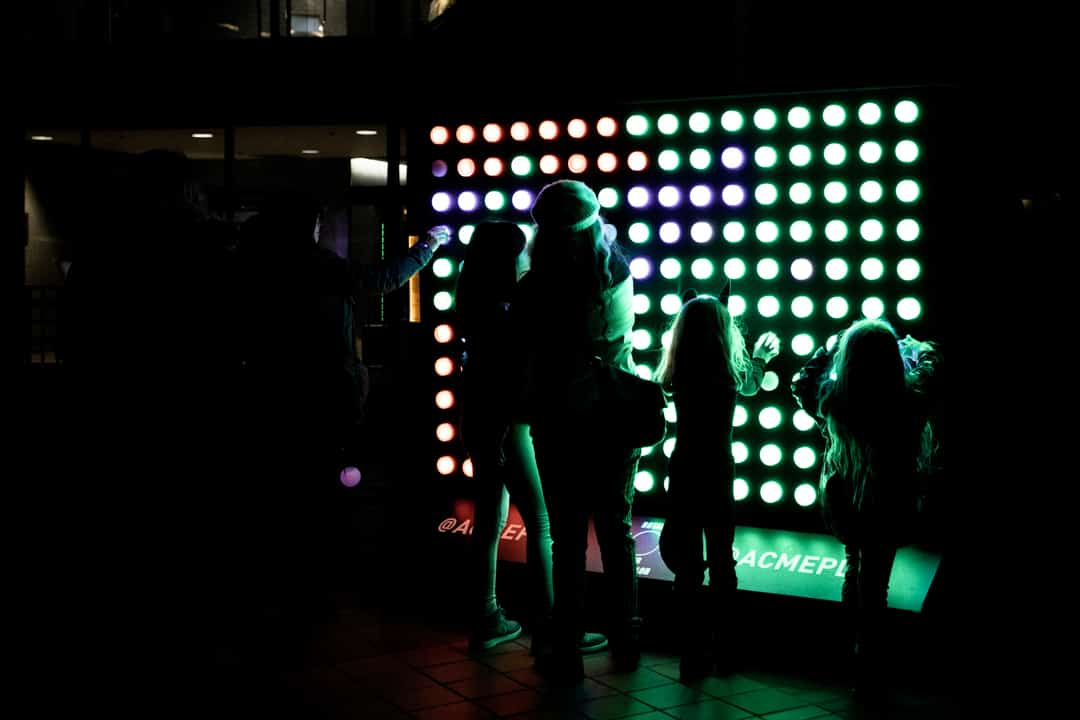 Portland Oregon USA Winter Light Festival