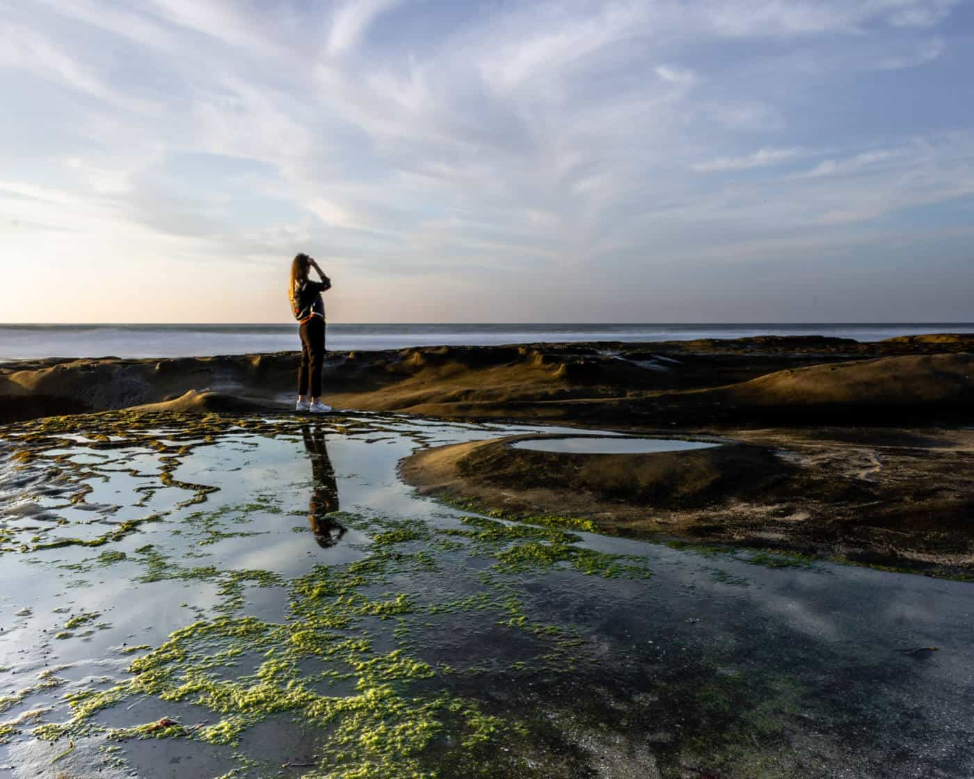 la jolla sunset tide pools