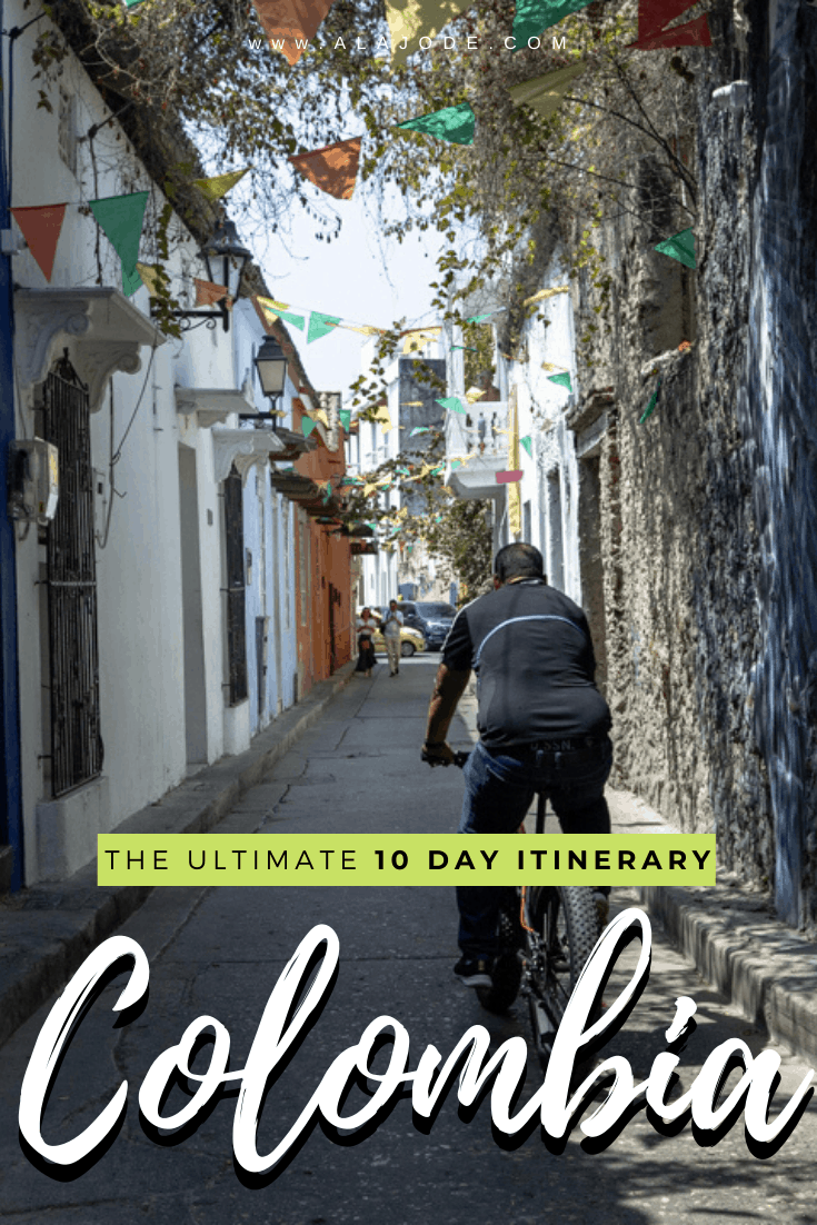 10 days Colombia itinerary