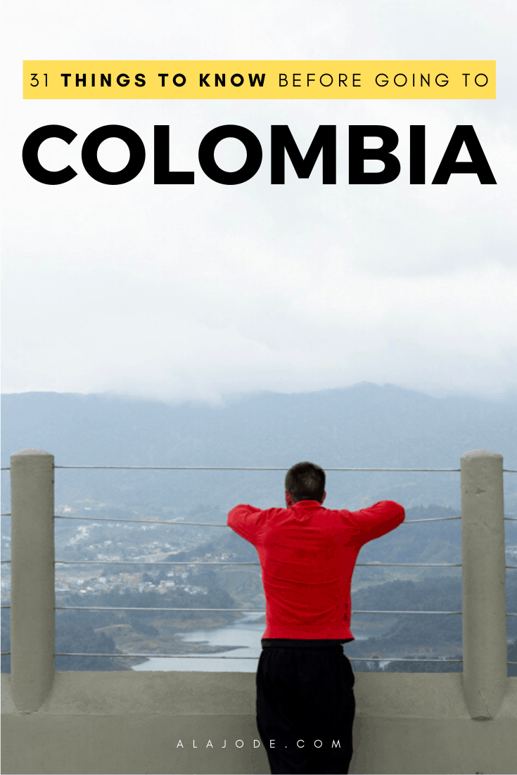 31 things to know before going to Colombia