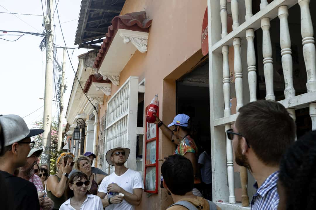 Free walking tour in Cartagena Colombia