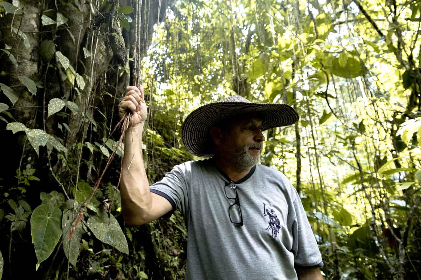 A Coffee Farmer in Colombia