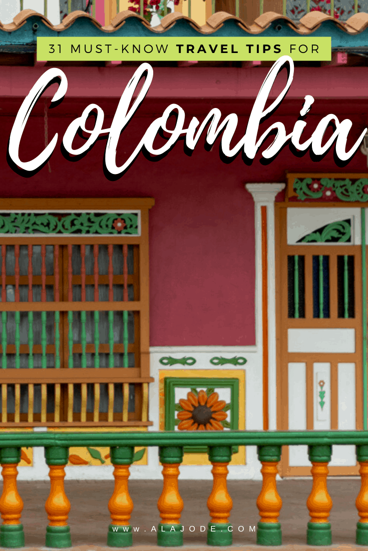 Colombia travel tips to know before going to Colombia