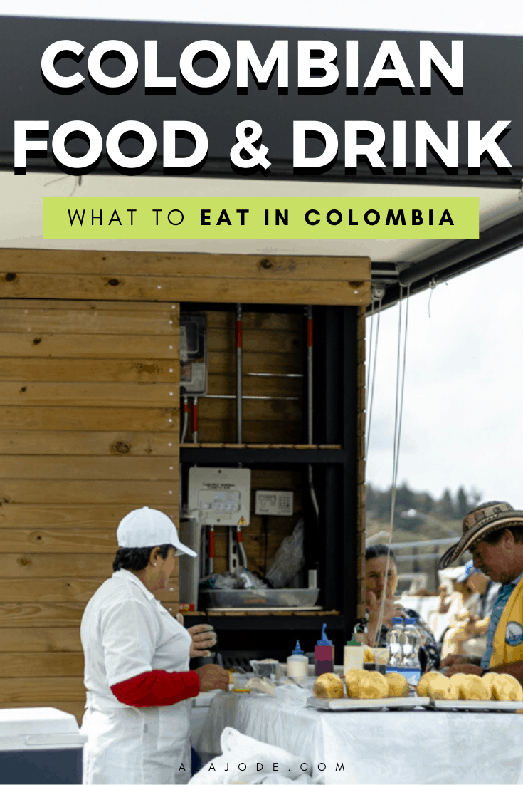 Colombian food and drink