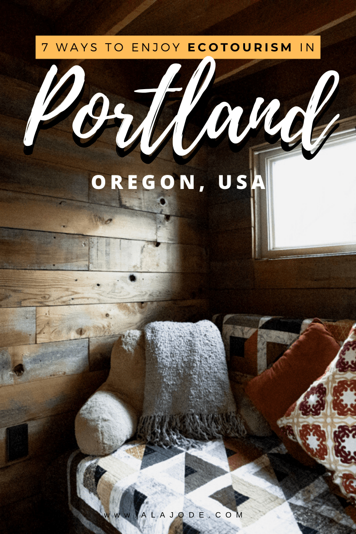 Ecotourism in Portland Oregon United States