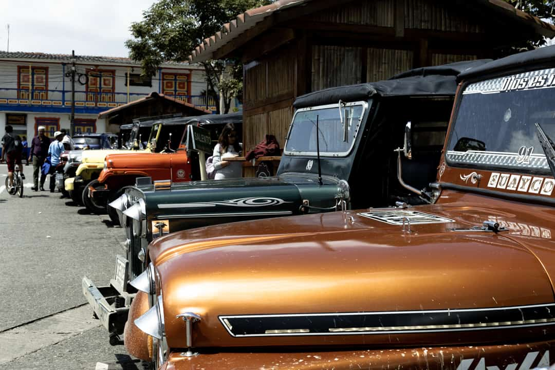 Jeep Willys in Filandia Colombia