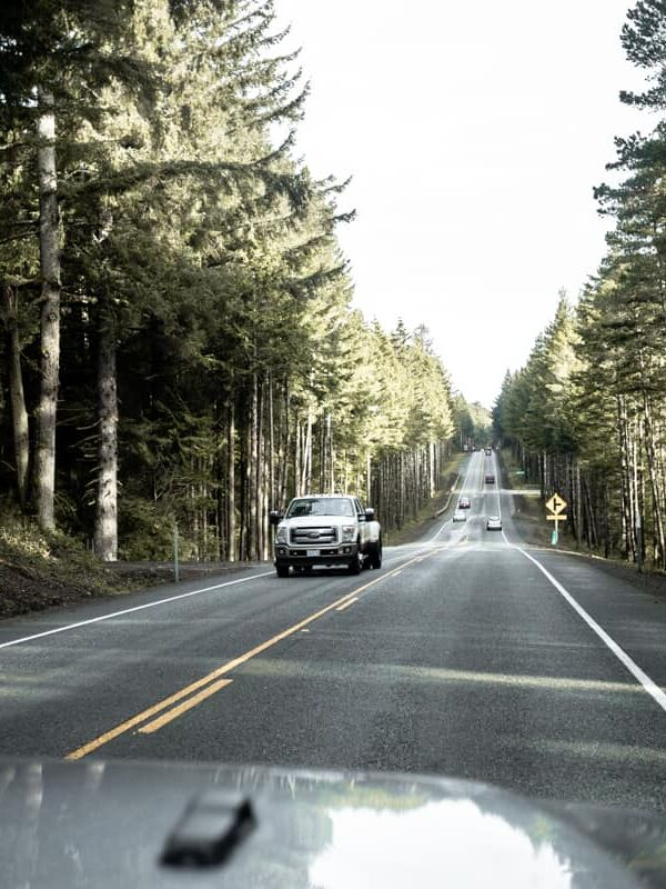 Driving in Oregon USA
