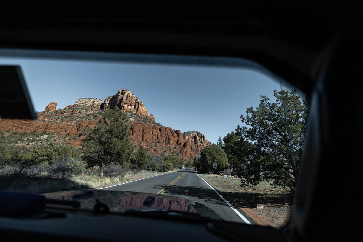 Road trip in Arizona, USA