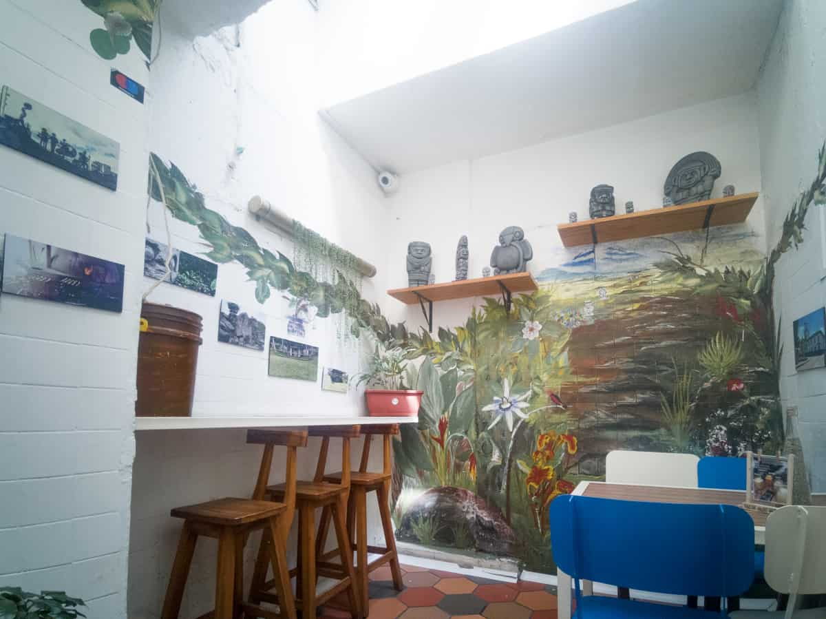 Tacoa Café Especial in Bogota Colombia