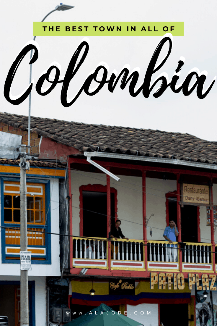 The best town in Colombia