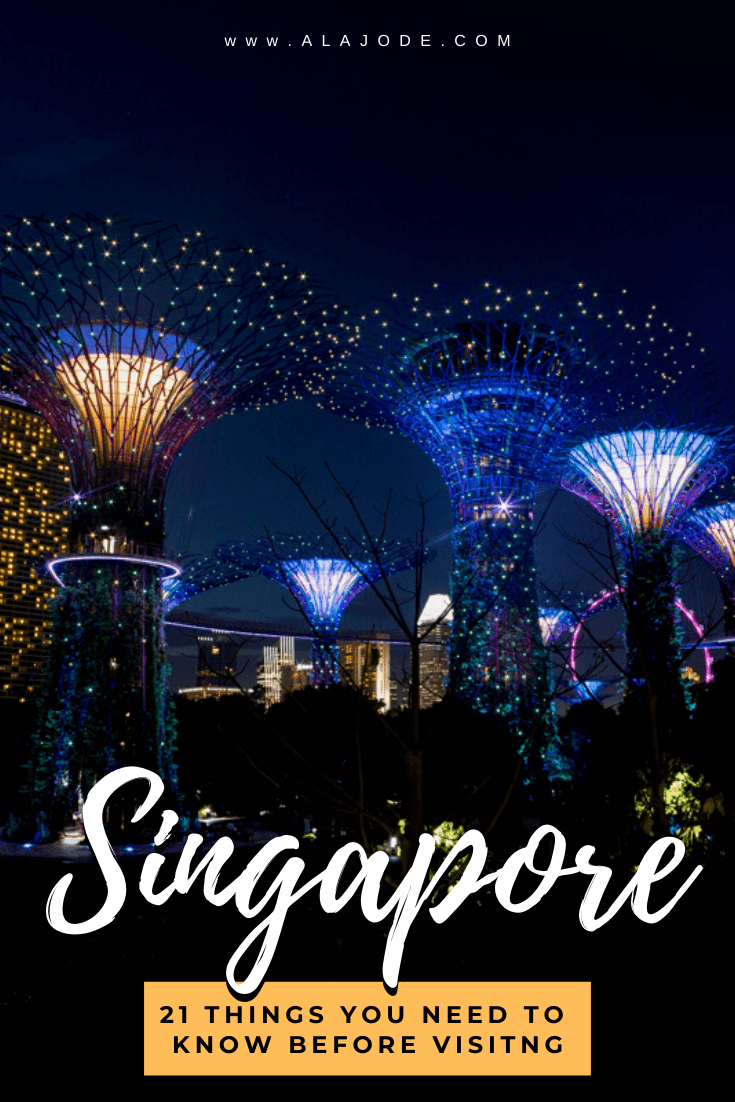 Things you need to know before visiting Singapore