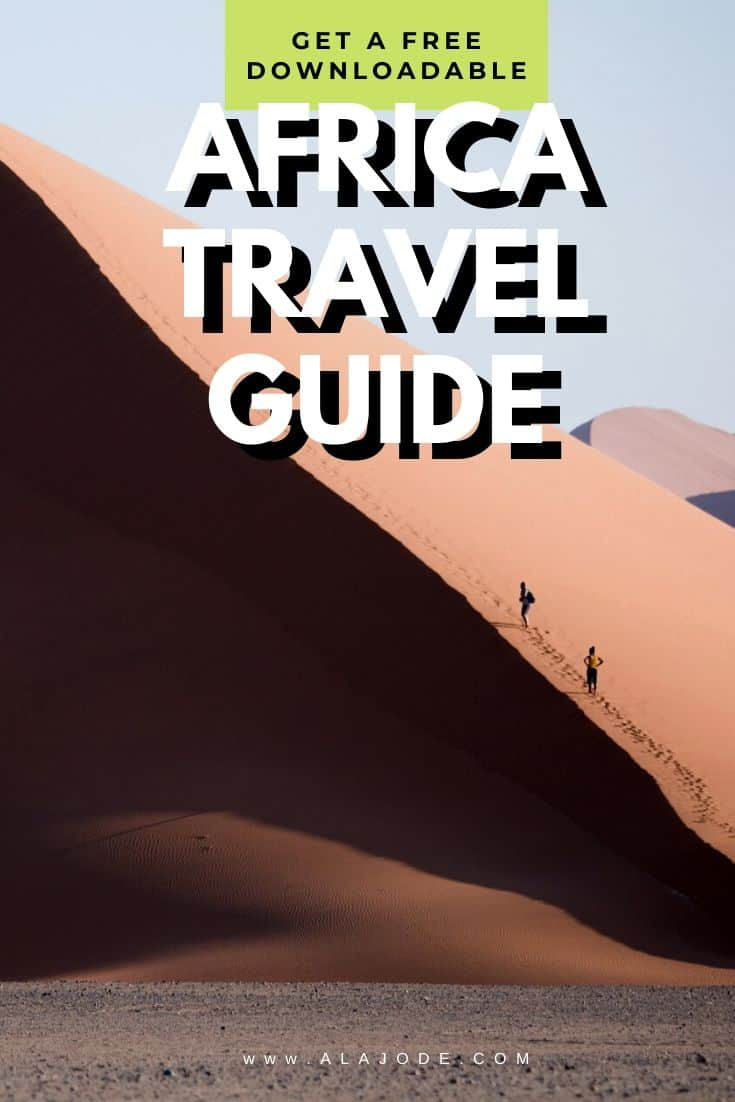Free Africa travel guide