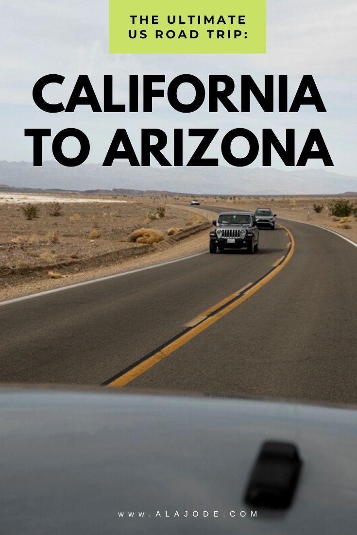 US Road Trip California to Arizona