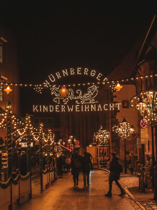 Bavaria Christmas Market in Germany