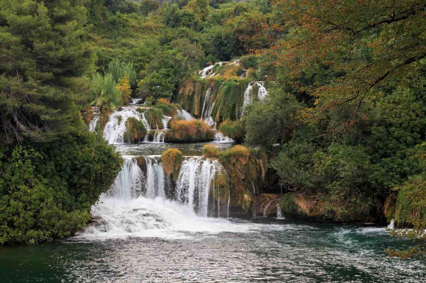 The Skradinski Buk waterfall, Croatia
