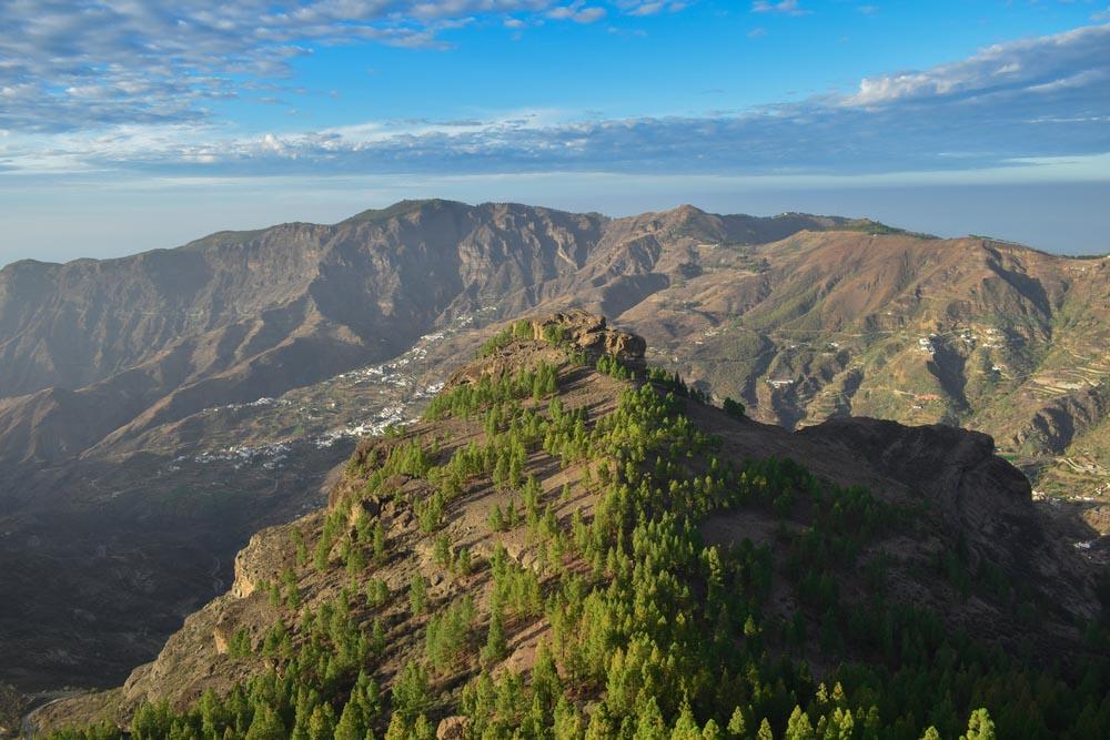 Hillsides in Gran Canaria