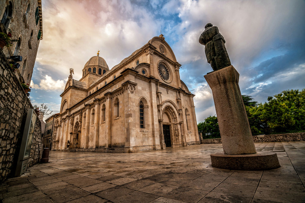 Cathedral of St James in Sibenik, Croatia.