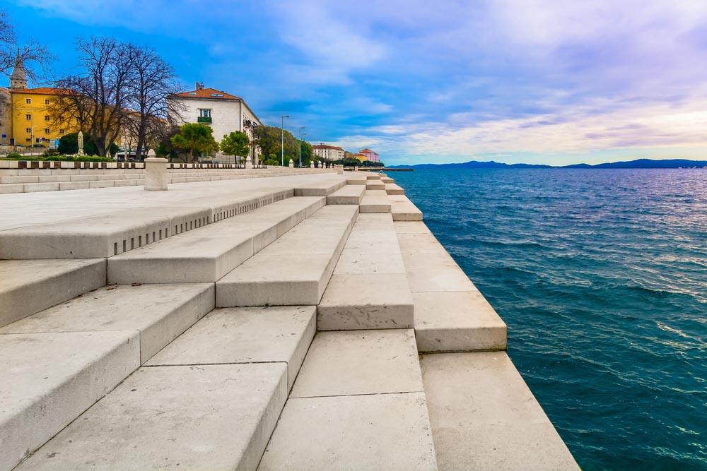 Zadar Sea Organ Croatia